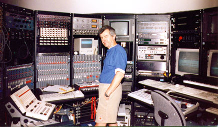 Jim at Terry Fryer's Ergonomic Console