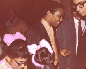 Johnny Nash Backstage