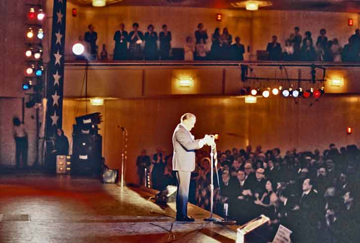 Bob Hope at Kennedy Ball