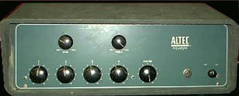 Altec 342b Mixer Amplifier