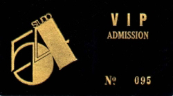 My Studio 54 V.I.P. Card